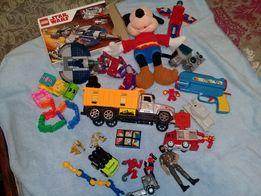 Лот для мальчика. Большой пакет игрушек.