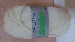 Пряжа La Fileuse чистая натуральная шаффхаузенская шерсть 50 г.