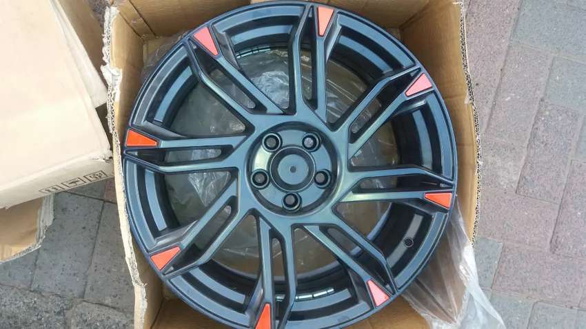18inch Mags 5x100 Polo 8J wide 0