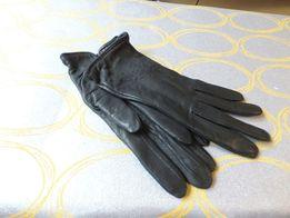 Перчатки женские 7 р натуральная кожа Румыния на шерстяной подкладке