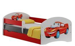 SUPER CAR 20S łóżko dziecięce z SZUFLADĄ 200/90