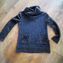 elegancki sweterek M