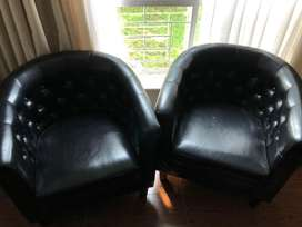 Formal occasional chair x2