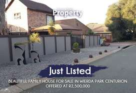 5 BEDROOM FAMILY HOUSE FOR SALE IN WEIRDA PARK CENTURION