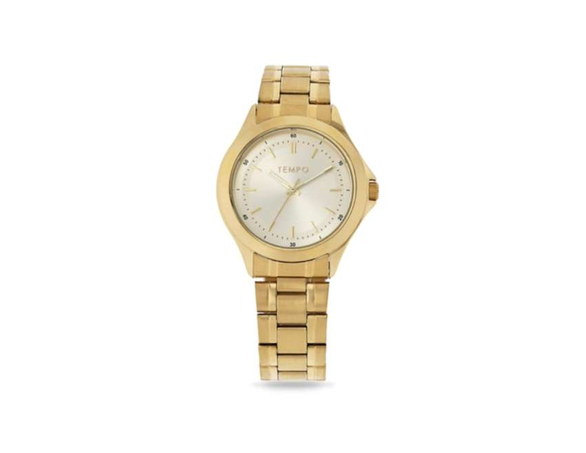 Tempo Gold Watch