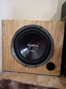 """Sony subwoofer 15"""""""