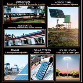 Solar systems agric mining residential