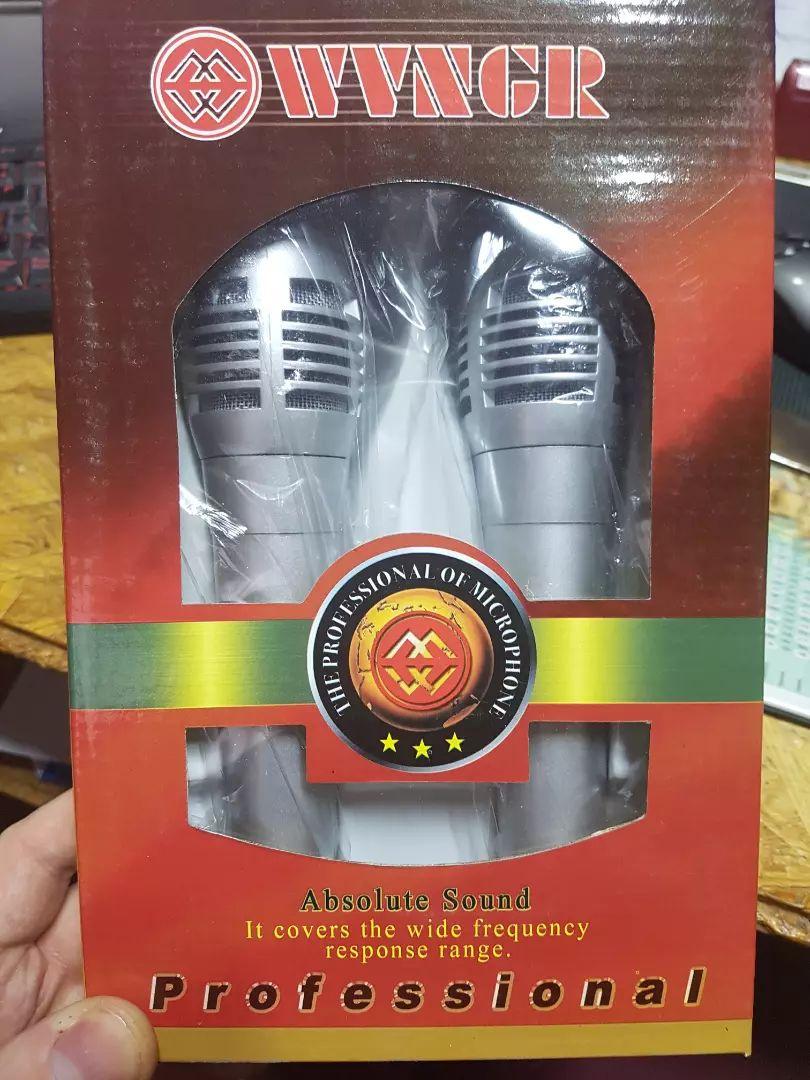2 mikrofony kabelove nove 0