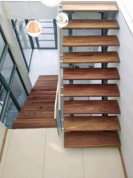 Balustrades, staircases, decks and steel structures