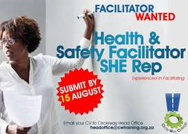 Health & Safety Facilitator Wanted