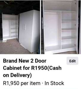 Brand New Cabinets for R1950 (Cash upon delivery )