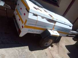Karet 1800 T van body trailer for sale
