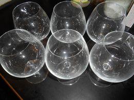 Бокалы для вина,коньяка ,6 шт,новые,СССР