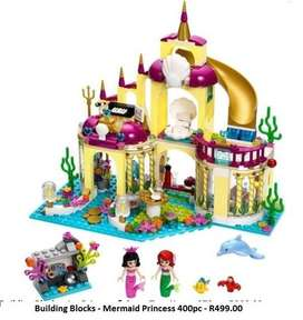 Building Blocks - Mermaid Princess 400pc