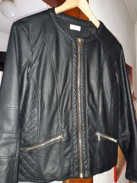 Faux Smart Leather Jacket