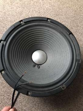 2 fully functional stage monitor speakers