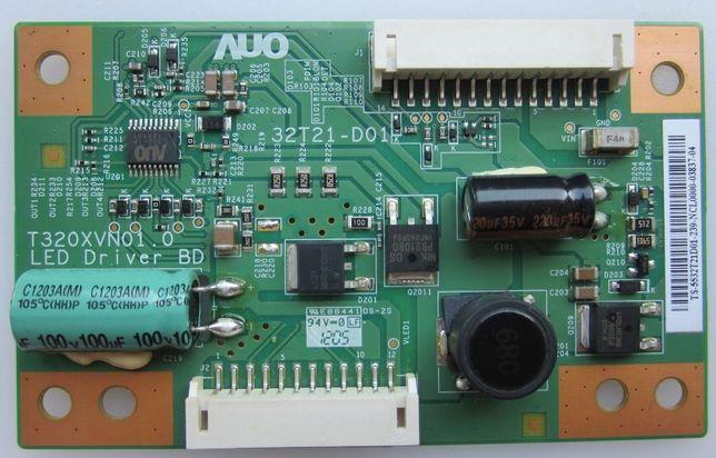 Плата светодиодной подсветки матрицы LG LED Driver 32t21-d01 T320XVN01 Мариуполь - изображение 1