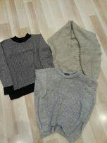 Zestaw trzech swetrów xs/s