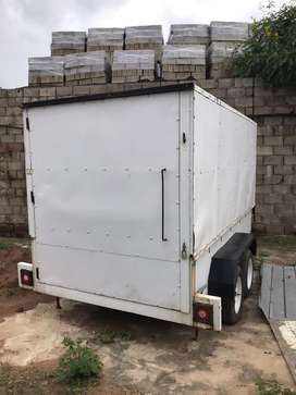 Venter Box Trailer