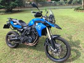 BMW F800GS, 2014, beautiful Cordoba Blue
