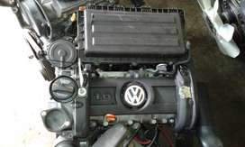 VW Polo 1.6 Comfortline low mileage import engine for sale