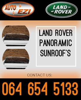 Discovery 4 panoramic sunroof for sale.(Land Rover and Jaguar spares)