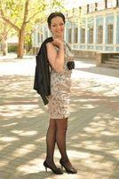 Стильное вечернее платье, р.М!