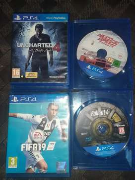 Selling my ps4 game's