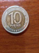 Продаю монеты 10 руб 1991г Л,1 гривну 2006г