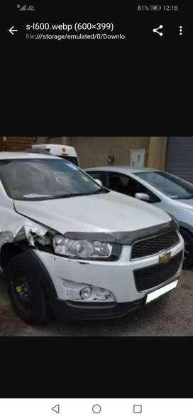 Chevrolet Captiva breaking up for spares