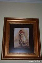Картина,ручная работа вышивка крестом