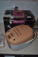 Мультиварка Maxwell MW-3801BN в рабочем состоянии
