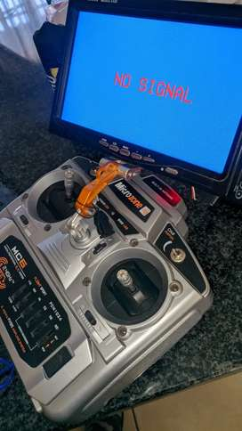 Microzone RC 5 channel with 7inch TFT and Av transmitter