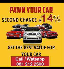 Pawn Car Deals @ 14%