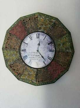 Wall Clock: Unique Art  Piece