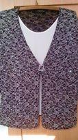 Туника обманка кардиган свитер пиджак