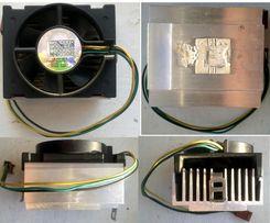 вентилятор с радиатором для CPU с зажимом, размер 60х55х45 мм