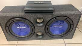Pioneer dual sub with XTC Amplifier