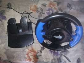 Ps2 Steering wheel and padals