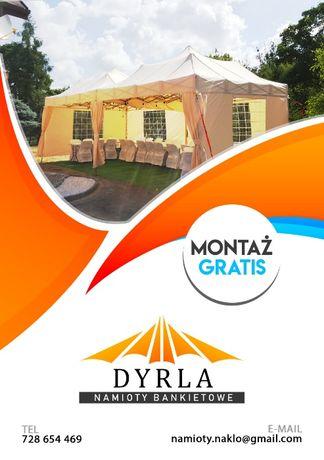 Namiot bankietowy, cateringowy imprezowy, na komunię, polter - WYNAJEM Żnin - image 1