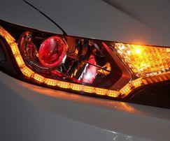 DYNAMICZNE KIERUNKOWSKAZY płynące światła dzienne Audi BMW Skoda VW