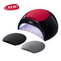 Светодиодная UV/LED лампа 2в1 (черная)