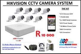 Hikvision CCTV 8Ch Hikvision System