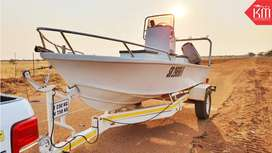 Excellent Fishing Boat with 2 Mariner Engines