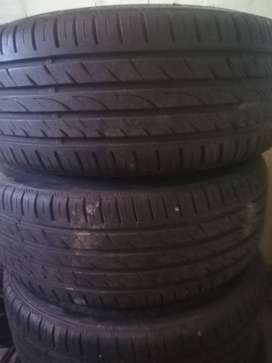 """17"""" Rims 4hole multi with 95% Tyres 205/40/17 pcd 114"""