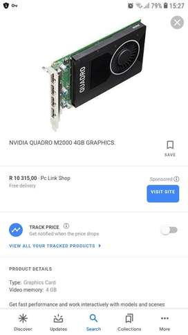 Quadro m2000 graphics card