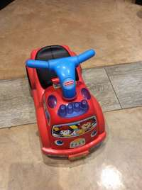 Image of Fisher-price little musical ride on car