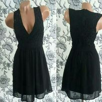 Шикарное черное платье Pagani