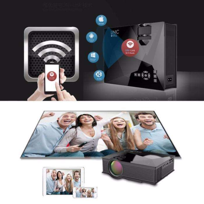 Brand New Unic UC 46 -wifi-led projector 0