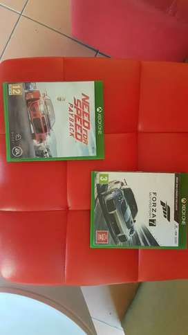 Xbox one Forza Motorsport 7 & Need for Speed PAYBACK
